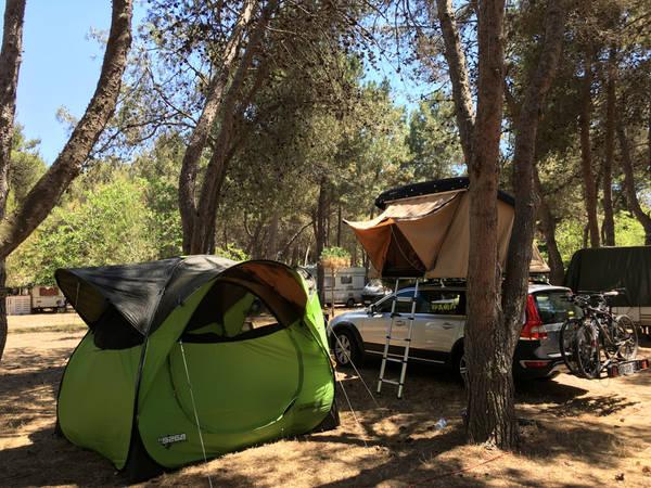 tente lodge camping
