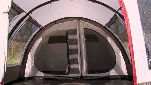 camping tente aménagée pas cher