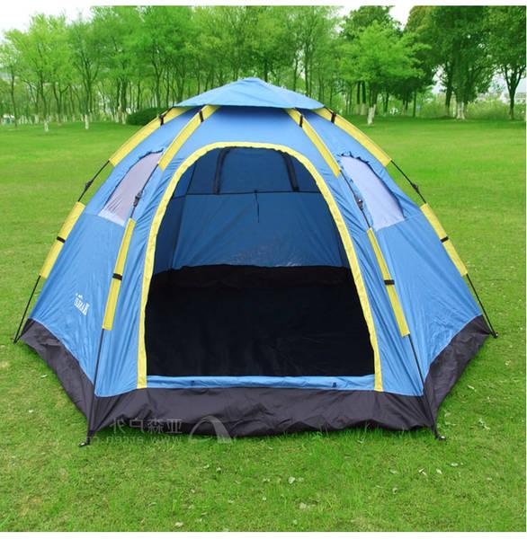 camping tente équipée