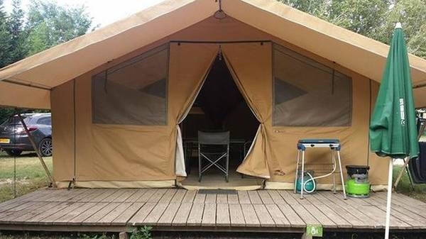 tente camping 3 places