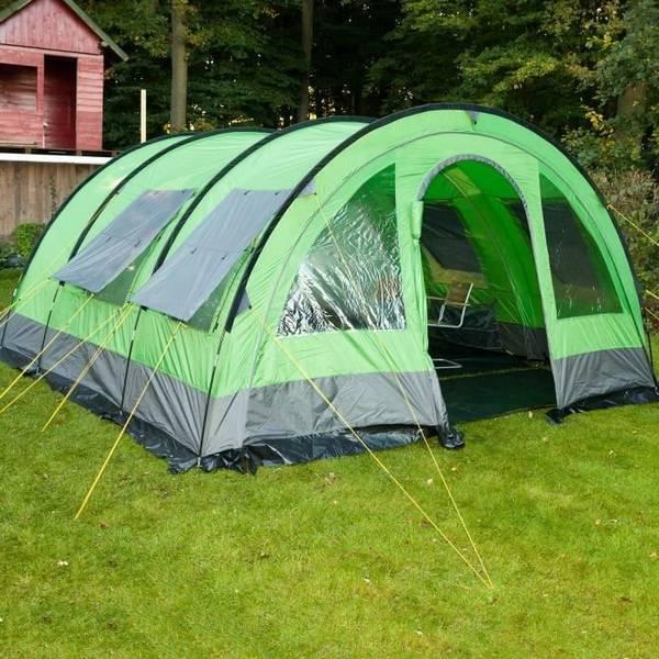 camping avec tente lodge