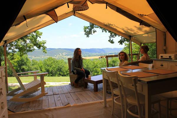 location de tente camping